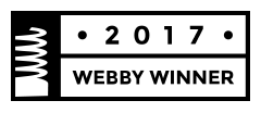 Webby Award Nominee 2017