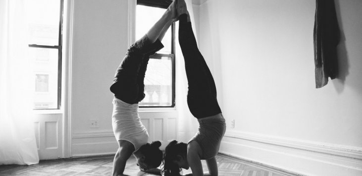A Partner Yoga Sequence For Love Sonima